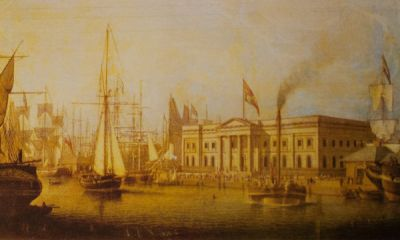 Comet at Greenock