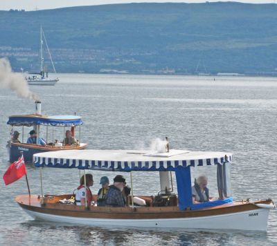 Two steam boats