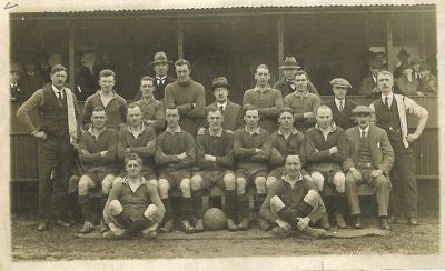 Helensburgh Football Club circa 1925