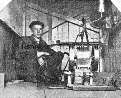 Baird's electric light plant