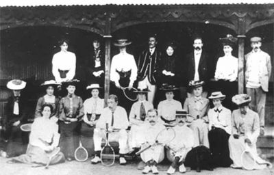 Tennis in 1912
