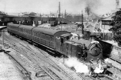 Leaving Helensburgh