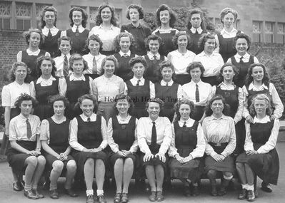 Hermitage School girls 1943-4