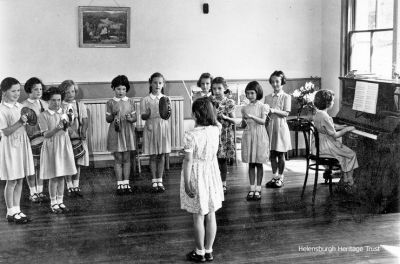 1950s St Bride's School class