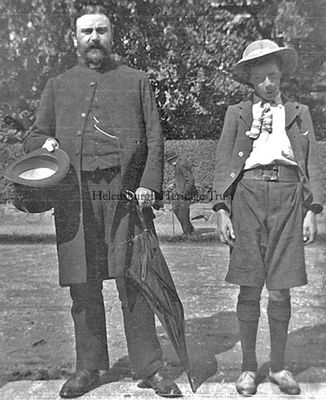 Dad and friend