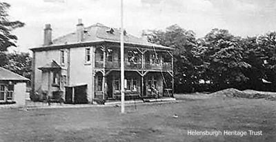 Original clubhouse