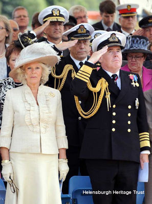 Duchess at Commissioning