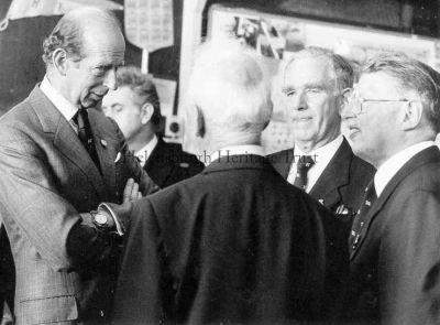 The Duke of Kent at Rhu