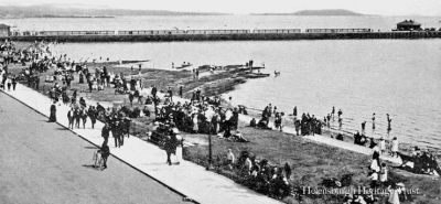 Seafront and pier
