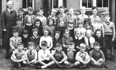 Miss Hamilton's Infants 2 class Hermitage Primary 1938