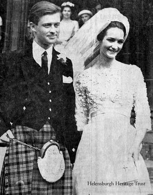 Iona Colquhoun marries Marquis