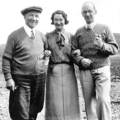 Jean Clyde and Sir Harry Lauder