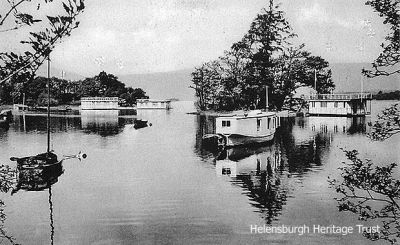 Houseboats at Luss