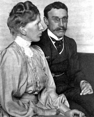 Artistic couple