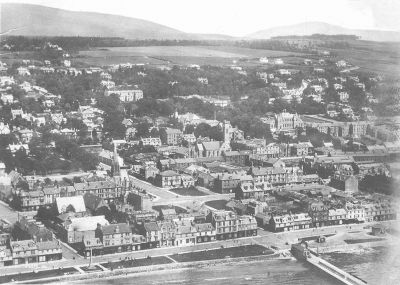 Helensburgh from the air