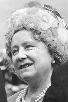 The late Queen Mother