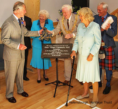 Prince Charles at Arrochar